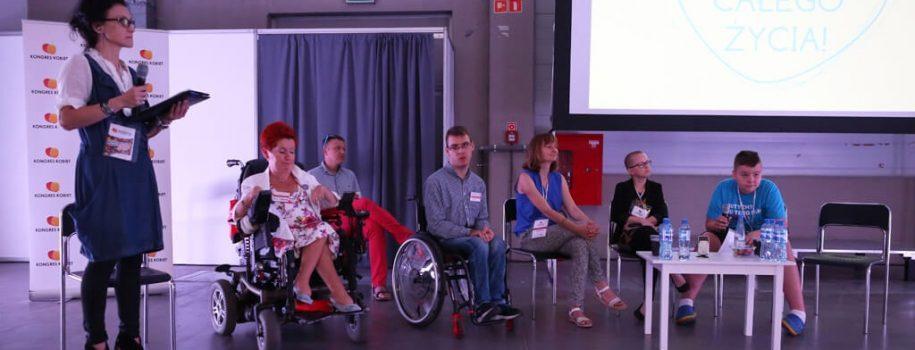 Nagranie: panel 2, Osoby z niepełnosprawnościami o pokonywaniu barier i samostanowieniu